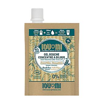 Concentrated shower gel - Eco-refill Sweet almond / Argan oil None