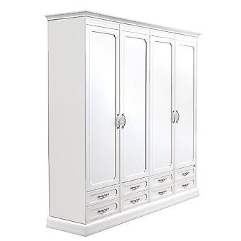 armario modular de 4 puertas y 8 cajones