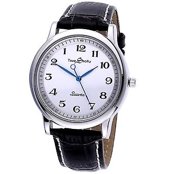 Men Quartz Watch, Waterproof Leather Watches