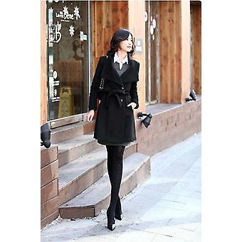New Autumn/winter Manteau Femme Overcoat Cotton Mixing High Quality Coats