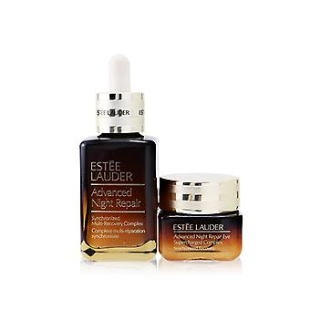 Advanced Night Repair Set: Synchronized Multi-recovery Complex 50ml+ Eye Supercharged Complex 15ml - 2pcs