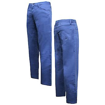فيلا مينز تشينو بنطلون قيعان قيعان الذكية عارضة الأزرق U91549 473 A78C