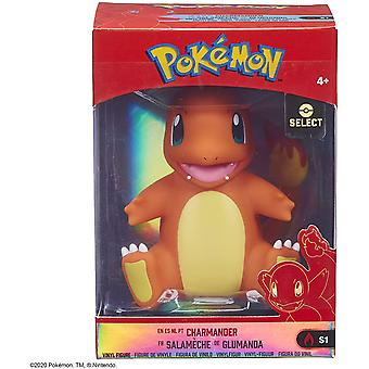 Pokemon 4 Inch Kanto Vinyl Figure - Charmander