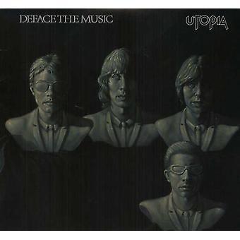 Utopia - Deface the Music [Vinyl] USA import