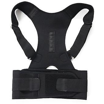 magnetisk terapi holdning corrector brace skulder tilbake belte
