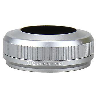Jjc zonnekap voor fujifilm x100, x100s en x100t - zilver