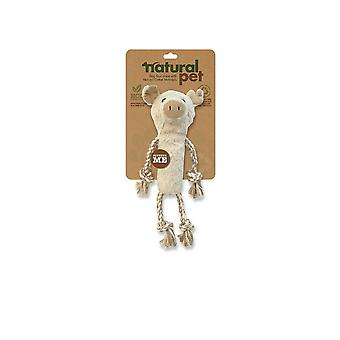 Natural Pet Pig Dog Toy