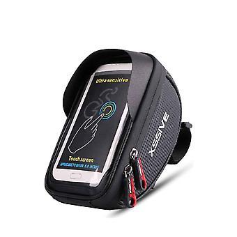 Universal wasserdichte Fahrrad-Telefonhalter - mit Staufach - bis max. 6,5 Zoll