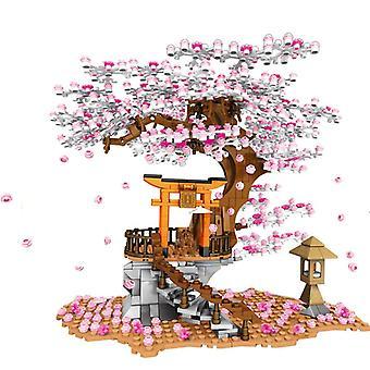 مدينة شارع عرض ضريح الطوب البيت - شجرة بناء كتلة لعبة