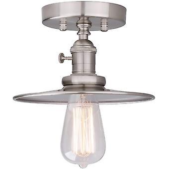 Phansthy Ceiling Light Fitting E27 Vintage Metal Black Hanging Flush Mount Lamp Industrial Edison Ce