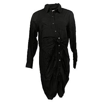 Laurie Felt Dress Regular Tied Front Blouse Black A305685