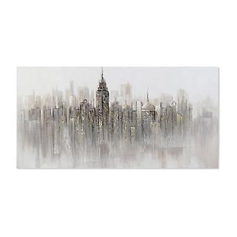 Maalaus Dekodonia Canvas Käsintehty New York (140 x 3 x 70 cm)