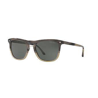 Giorgio Armani AR8107 5656/31 Grey/Green Sunglasses
