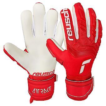 Reusch Attrakt Freegel Silver Junior Goalkeeper Gloves