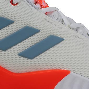 Adidas Pro Bounce Low 18 Swag Pack Skor Vit / Core Blå / Sol Röd F36938 Män & s