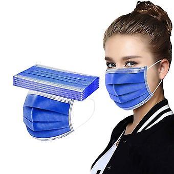 Headband Masques, Mascarilla Women, Man, Solid Disposable Face Mask, Ear Loop,