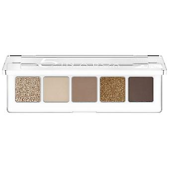 Catrice Cosmetics Eyeshadow Palette Mini 5 In a Box 010 golden nude look 4 gr