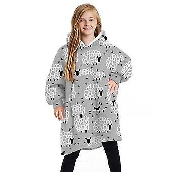 Kinder Teen Kleidung Super weiche warme tragbare Decke