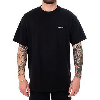 Camiseta para hombre carhartt wip s/s guión bordado camiseta i025778.89