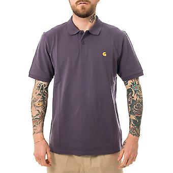 Polo masculino carhartt wip s/s chase pique polo i023807.0af