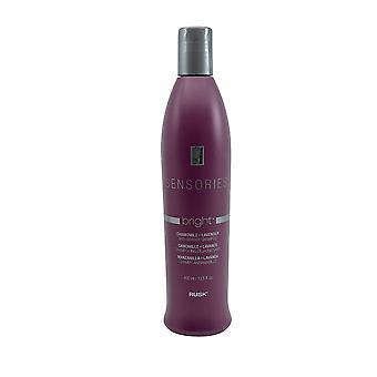 Rusk Sensories Bright Anti Brassy Shampoo 13.5 OZ