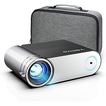 Beamer, HanFei Mini Beamer, Projektor 1280*720P mit Tragetasche untersttzt 1080P Multimedia LED 50000