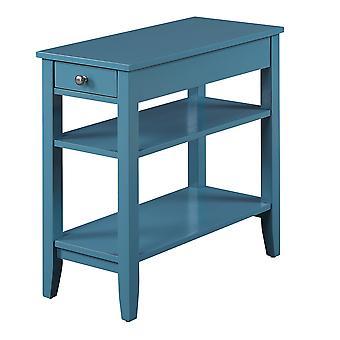 Amerikanisches Erbe Drei-Stufen-Endtisch mit Schublade - R6-263
