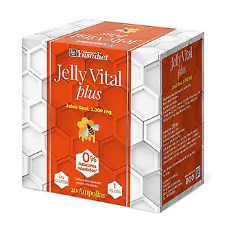 Jelly Vital Plus Jelly 20 vials of 2000mg