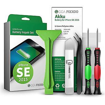 FengChun Akku Reparatur-Set für iPhone SE   Kapazität wie Original-Akku   Ersatz-Akku mit