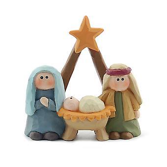 Heaven Sends Mary & Joseph Nativity Decoration