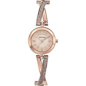 Trendy Kiss - Wristwatch - Women - Flore - TMRG10100-04
