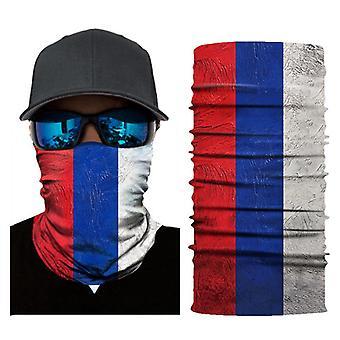 Ulkourheilupyöräilymaski painaa maailmancupin lippu bandanan taikamaskia