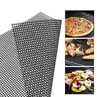 BBQ bakken Net Pad Non-stick Barbecue Mesh Mat Herbruikbare hittebestendigheid BBQ Mat Liner Accessoires
