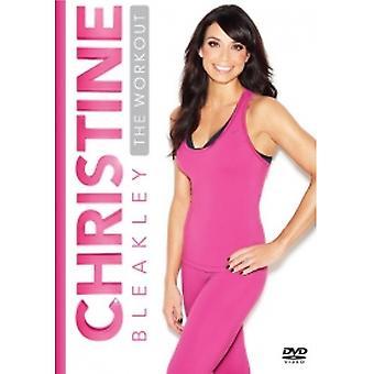 Christine Bleakley Le DVD d'entraînement