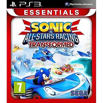 Sonic & All-Stars Racing transformiert PS3 Spiel (Essentials)