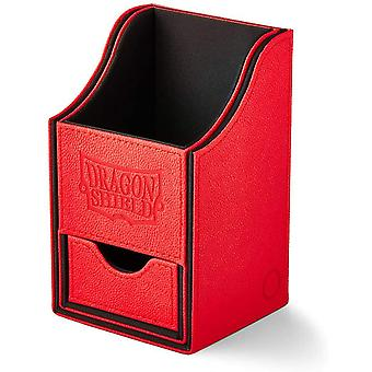 Dragon Shield Nest+ Box 100 - Red/Black