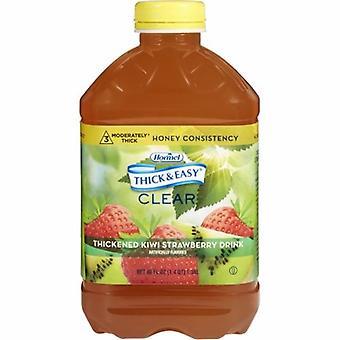 Hormel Thickened Beverage, Kiwi Strawberry Flavor, 46 Oz