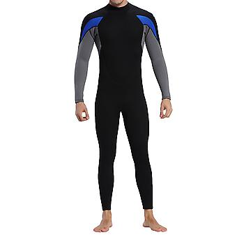 YANGFAN الرجال 3mm البدلة الرطبة ، كامل الجسم بدلة الغوص للغوص الغطس ركوب الأمواج السباحة