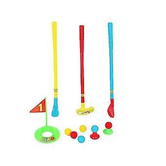 Kids Golf Club define carrinho de golfe com rodas, pratique buracos fun young golfer sports