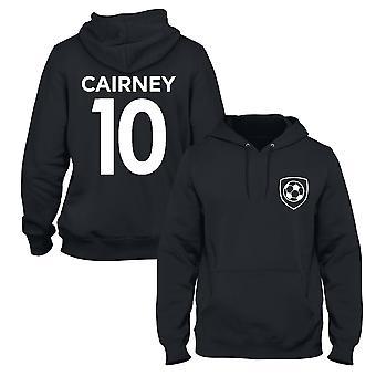 Tom cairney 10 club stijl speler voetbal hoodie