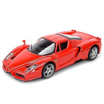 1:32 الرياضة سيارة ثابتة محاكاة يموت يلقي المركبات القابلة للتحصيل نموذج سيارة لعب (الأحمر)