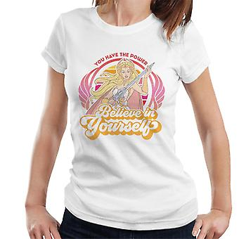 She-Ra Believe In Yourself You Have The Power Women's T-Shirt