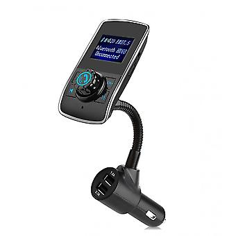 HY-68 Bluetooth FM Sender QC 3.0 Wireless In-Car Radio Adapter Freisprecheinrichtung LED Display Dual USB
