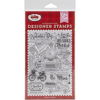 Echo Park Briefmarken - Be Mine, Amor & Ko.