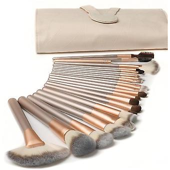 18pcs Makeup Brushes Sets With Pu Leather Bag