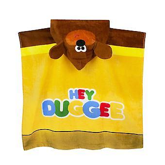 Hey Duggee Kinderen / Kids Hooded Handdoek