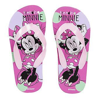 Flip Flops til børn Minnie Mouse Pink