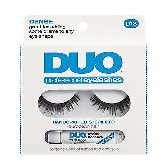 Duo D13 Dense & Wispy Eye Lash & Adhesive Glue Kit - 100% Human Hair