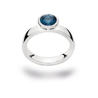 Bastian Inverun - Ring Sterlingsilber - Blautopas - 21420.60
