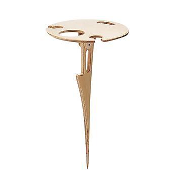 Wijn houder houten tafel buiten bier en wijn tafel ronde draagbare wijntafel houten picknicktafel